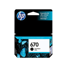 Cartucho Hp 670 Negro Original 3525 4615 4625 5525