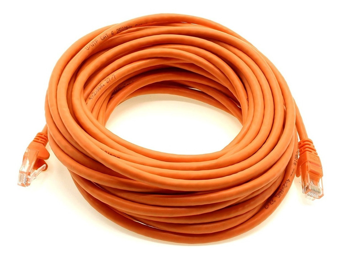 Cable De Red 15 Metros Categoria 6e Rj45 Cat 6 Gigabit Patch