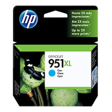 Cartucho Hp Original 951xl Cian Cn046al