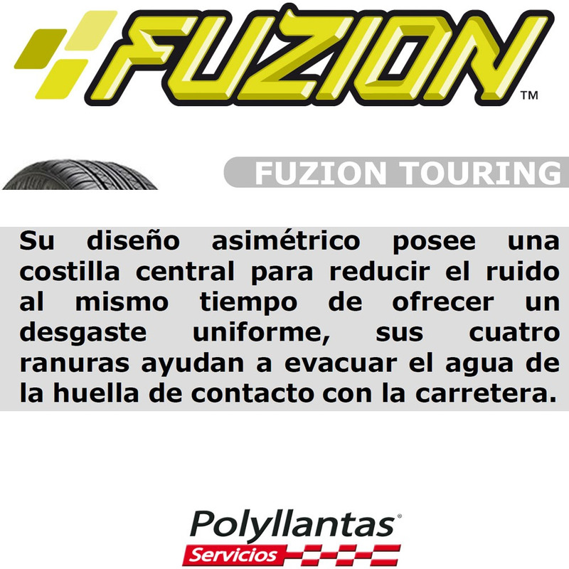 195-55 R16 87V Touring  Fuzion