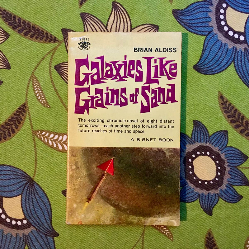 Brian Aldiss.  GALAXIES LIKE GRAINS OF SAND.