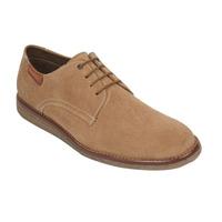 Zapato beige con agujetas 018575