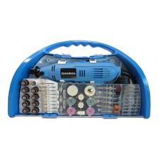 Minitorno Electrico Gamma 130w Maletin 119 Piezas G19501ac