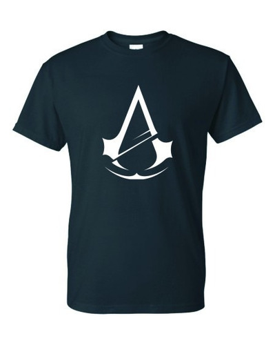 Assasin Creed Remera Estampada Con Vinilo