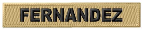 Atributo Militar Nombre Patagonico/desert