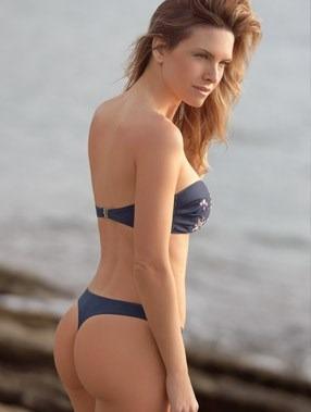 Bikini Marcela Koury Con Bandeau Y Cola Less Imperdible