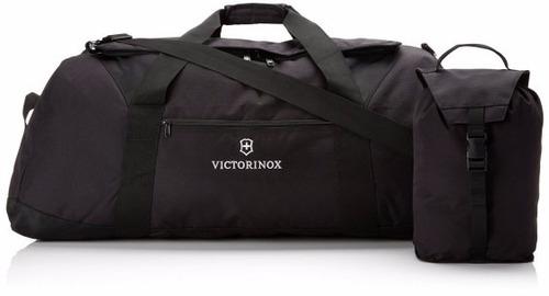 Bolso Victorinox Plegable Grande Negro Lanueve