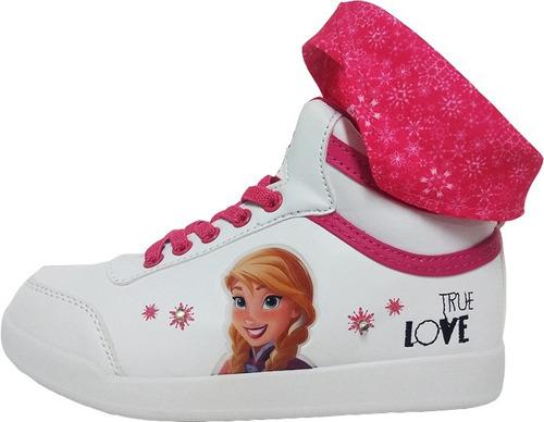 Botas Zapatillas Frozen Disney Anaa Elsa Mundo Moda Kids