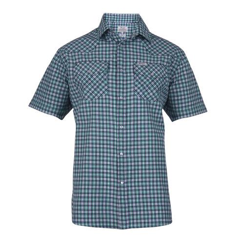 Camisa Wrangler Western Shirt M/c Hombre (05410417116101)