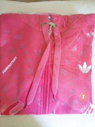 Campera Adidas Dama Algodon