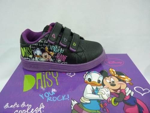 Disney Zapatillas De Minnie Con Luces Talles Del 23 A 30