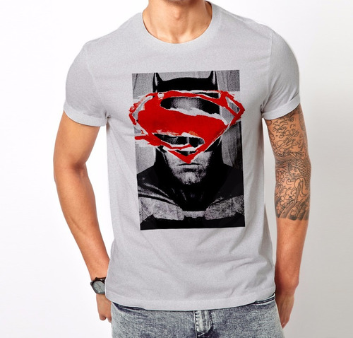 Excelentes Remera Superman Vs Batman - Algodon Calidad 100%