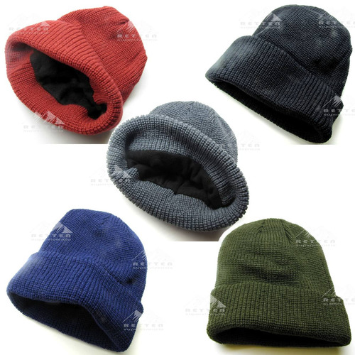 Gorro Thinsulate De Lana Supervivencia Abrigo - 4colores