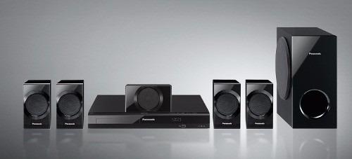 Home Theater 5.1 Dvd Panasonic Sc-xh105 Usb 1080p Hdmi Gtia!
