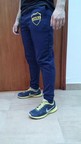 Jogging Deportivo Chupin Entallado Boca Juniors