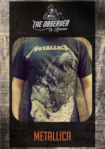 Metallica - Remeras The Observer - Rock Y Musica