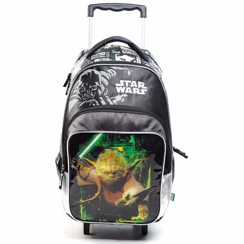 Mochila Con Carro Star Wars Con Licencia Original 17