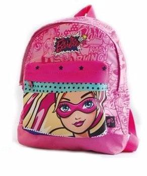 Mochila Espalda Jardin Barbie Super Princesa Girl Power 12 P