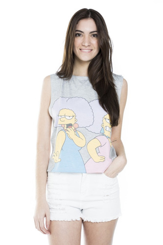 Musculosa 47 Street Mujer S.sisters