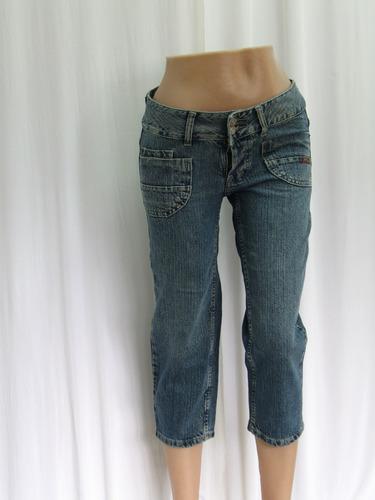 Pantalon Capri De Jean 47 Street Original -