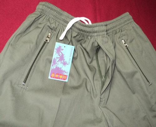 Pantalon Nautico Cargo De Gabardina Talles 5 Al 7
