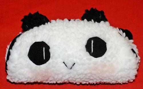 Portacosmético Cartuchera Animal Oso Panda Peluche C/s Rubor