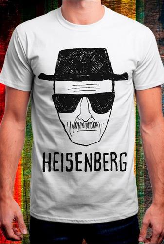 Remera Breaking Bad, Heisenberg -bb 1
