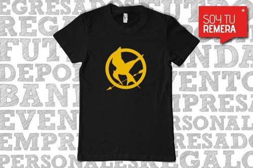 Remera Los Juegos Del Hambre - Remera The Hunger Games