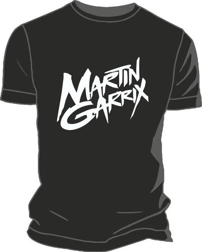 Remera Martin Garrix Estampada Ploteada Vinilo Creamfields