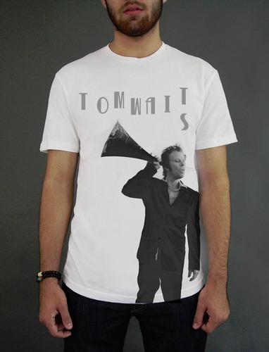 Remera Tom Waits - Hay Más Modelos