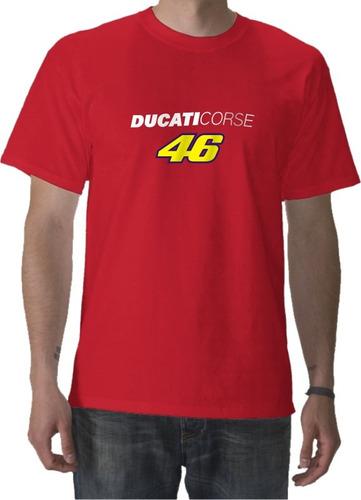 Remeras Ducati Desmo, Valentino Rossi Moto Gp. Fuerza G!