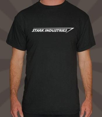 Remeras Estampadas Personalizadas Iron Man Stark Industries