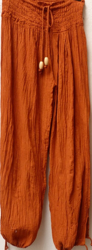 Ropa Estilo Indu. Babucha De Bambula