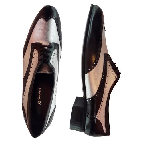 Zapatos Hombre Cuero Calzado Vestir Elegante Cordones