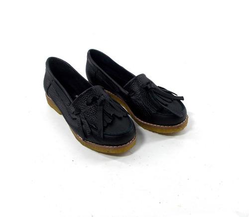Zapatos Mujer Mocasines Cuero Magali Shoes